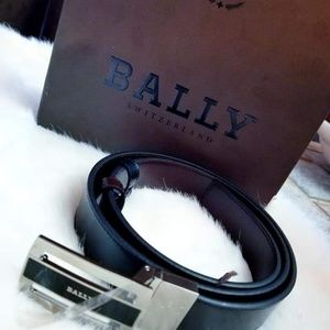 Bally Accessories - Bally leather belt
